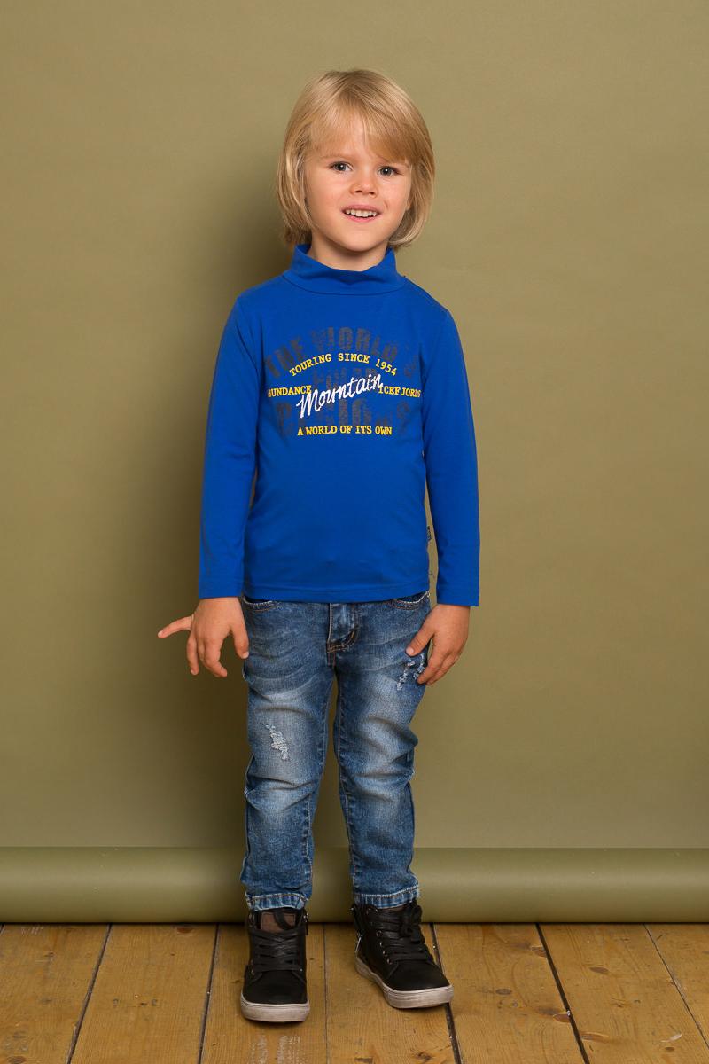 Водолазка для мальчика Sweet Berry Baby, цвет: синий. 731051. Размер 80
