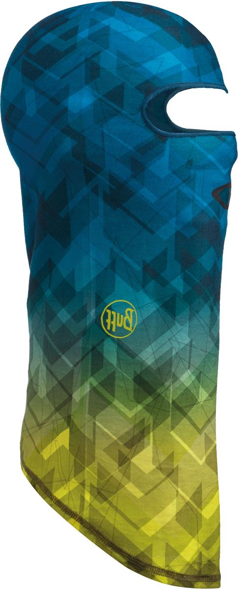 Балаклава Buff Thermonet, цвет: синий, желтый. 115251.555.10.00. Размер универсальный115251.555.10.00Балаклава Buff Thermonet - это оригинальный, мультифункциональный, бесшовный головной убор - удобный и комфортный для любого вида активного отдыха и спорта. Оригинальный, потому что Buff был и является первым в мире брендом мультифункциональных, бесшовных и универсальных головных уборов. Мультифункциональный, потому что их можно носить самыми разными способами: как шарф, как шапку, как балаклаву, косынку, бандану, маску, напульсник и многими другими - решает Ваша фантазия! Универсальный головной убор, который можно носить более чем двенадцатью способами, который можно использовать при занятии любым видом спорта, езде на велосипеде и мотоцикле, катаясь или бегая на лыжах, и даже как аксессуар в городской одежде. Бесшовный, благодаря эластичности, позволяющей использовать эти головные уборы как угодно и не беспокоиться о том, что кожа может быть натерта или раздражена швами.