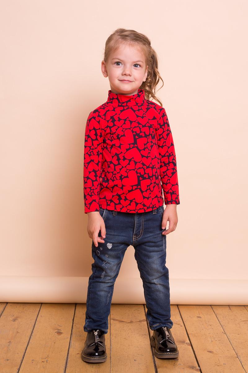 Джинсы для девочки Sweet Berry Baby, цвет: синий. 732046. Размер 98732046Утепленные джинсовые брюки для девочки на флисовой подкладке, декорированные оригинальной вышивкой и потертостями. Прямой крой, средняя посадка. Застегиваются на молнию и пуговицу. Шлевки на поясе рассчитаны под ремень. В боковой части пояса находятся вшитые эластичные ленты, регулирующие посадку по талии.