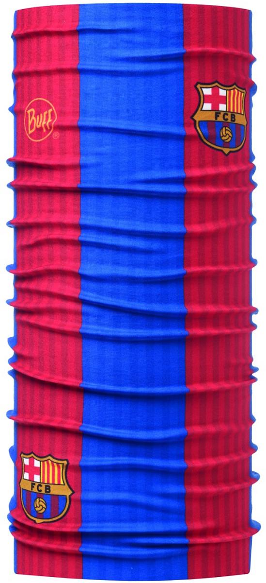 Бандана Buff Barcelona, цвет: красный, синий. 113319.555.10.00. Размер универсальный113319.555.10.00Buff - это оригинальные, мультифункциональные, бесшовные головные уборы - удобные и комфортные для любого вида активного отдыха и спорта. Оригинальные, потому что Buff был и является первым в мире брендом мультифункциональных, бесшовных и универсальных головных уборов. Мультифункциональные, потому что их можно носить самыми разными способами: как шарф, как шапку, как балаклаву, косынку, бандану, маску, напульсник и многими другими - решает Ваша фантазия! Универсальный головной убор, который можно носить более чем двенадцатью способами, который можно использовать при занятии любым видом спорта, езде на велосипеде и мотоцикле, катаясь или бегая на лыжах, и даже как аксессуар в городской одежде. Бесшовные, благодаря эластичности, позволяющей использовать эти головные уборы как угодно и не беспокоиться о том, что кожа может быть натерта или раздражена швами.