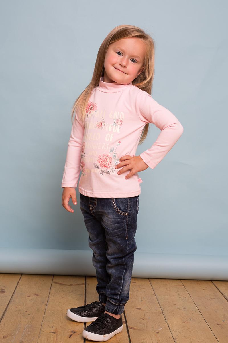Джинсы для девочки Sweet Berry Baby, цвет: темно-синий. 732091. Размер 98732091Модные джинсы Sweet Berry Baby для девочки выполнены из хлопка с добавлением спандекса. Модель на широком эластичном поясе оригинальной варки, карманы декорированы стразами, низ брючин собран на мягкую широкую резинку.