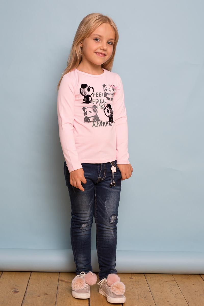 Джинсы для девочки Sweet Berry, цвет: темно-синий. 734051. Размер 110734051Утепленные джинсы для девочки от Sweet Berry на флисовой подкладке с оригинальной варкой, декорированные брелоком и декоративными заплатками. Зауженный крой, средняя посадка. Застегиваются на молнию и пуговицу. Шлевки на поясе рассчитаны под ремень. В боковой части пояса находятся вшитые эластичные ленты, регулирующие посадку по талии.