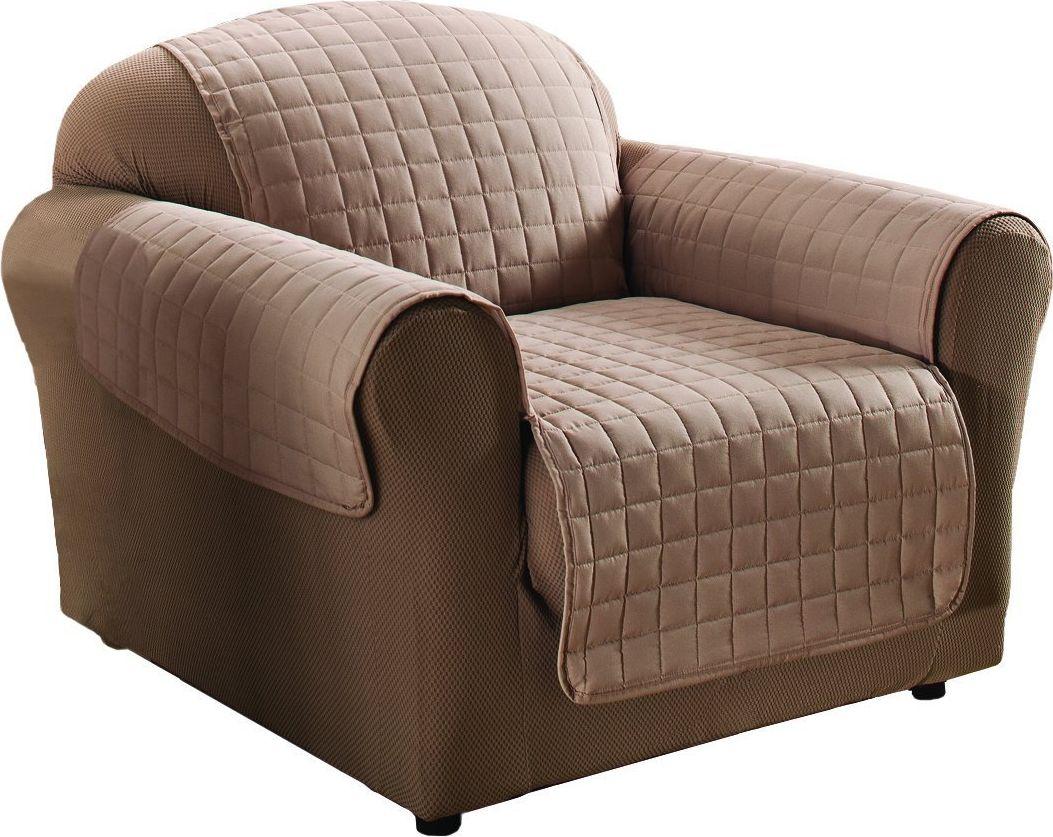 Накидка на кресло Медежда Йорк, цвет: бежевый1401121203000Универсальная стеганая накидка на кресло Йорк защитит ваш диван и украсит вашу гостиную. Очень удобна и проста в использовании. Производитель: Медежда, Россия. Ширина накидки 55 см. Машинная стирка при температуре 30 градусов.