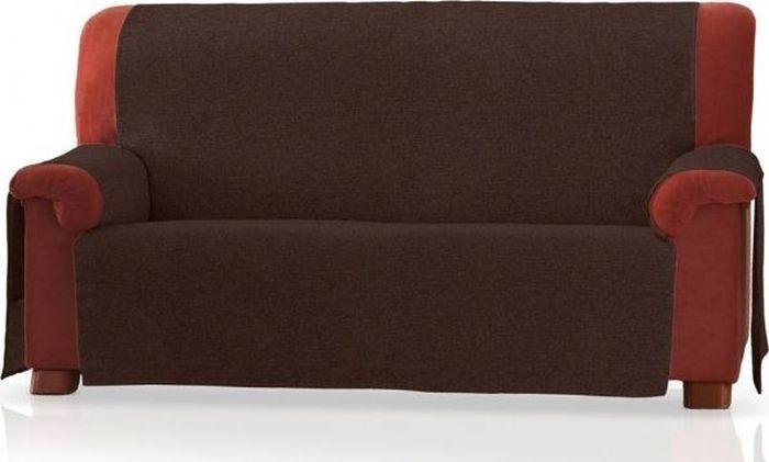 Накидка на двухместный диван Медежда Иден, цвет: шоколадный