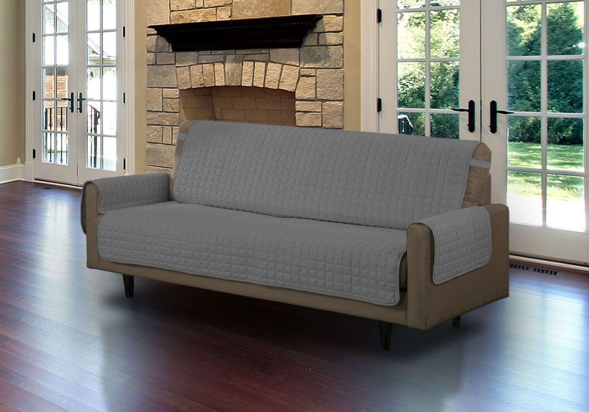 Накидка на двухместный диван Медежда Йорк, цвет: светло-серый1402121201000Универсальная стеганая накидка на диван Йорк защитит ваш диван и украсит вашу гостиную. Очень удобна и проста в использовании. Производитель: Медежда, Россия. Ширина накидки 120 см. Машинная стирка при температуре 30 градусов.