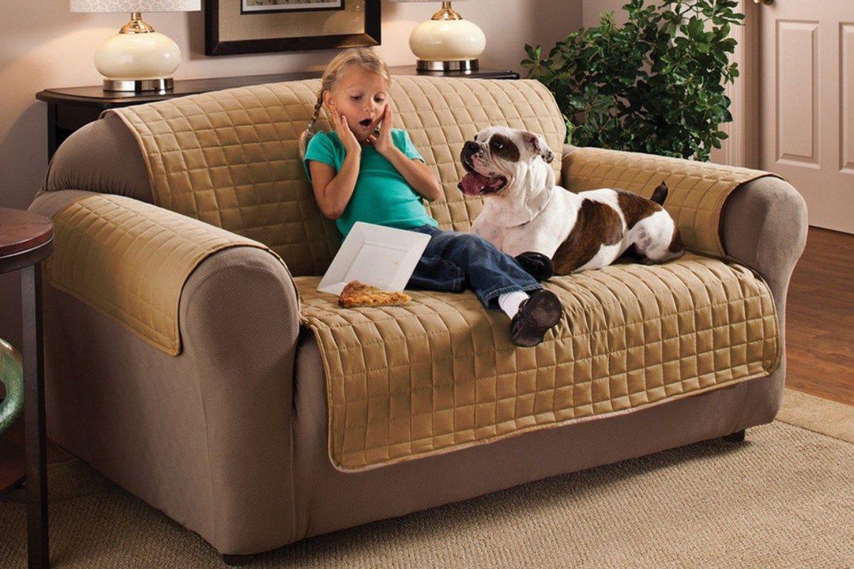 Накидка на трехместный диван Медежда Йорк, широкая, цвет: бежевый1404121203000Универсальная стеганая накидка на трехместный диван Медежда Йорк изготовлена из 100%полиэстера. Такая накидка защитит ваш диван от шерсти домашних животных, пятен, износа иосвежит его внешний вид. Кроме того, изделие украсит вашу гостиную и создаст комфорт и уют вдоме.Накидка очень удобна и проста в установке. Машинная стирка при температуре 30°С.Ширина накидки: 200 см.Чехлы на мебель Медежда универсальны и подходят на большинство моделей мебели. Таковаособенность кроя изделий свободного стиля или тянущегося материала стрейч стиля. Основноезначение при подборе имеет только ширина спинки.