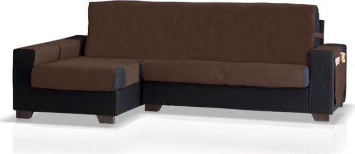 Накидка на угловой диван Медежда Иден, левый угол, цвет: шоколадный14050212110Универсальная накидка на угловой диван Иден защитит ваш диван и украсит вашу гостиную. Накидка разработана с практичными боковыми карманами, в которых можно хранить пульты, журналы или газеты, очень удобна и проста в установке. Специальные фиксаторы не позволяют накидке съезжать. Если Вы смотрите на диван и угол дивана находится с левой стороны, то Вам необходима накидка на угловой диван Иден левый угол, как изображена на фото. На видео инструкции показан предыдущий вариант накидки, по просьбе наших покупателей мы стали пришивать подлокотники к основной части накидки.