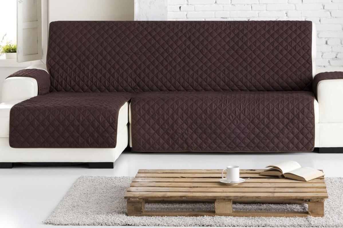 """Накидка на угловой диван Медежда """"Йорк"""", левый угол, цвет: шоколадный 1405121211000"""