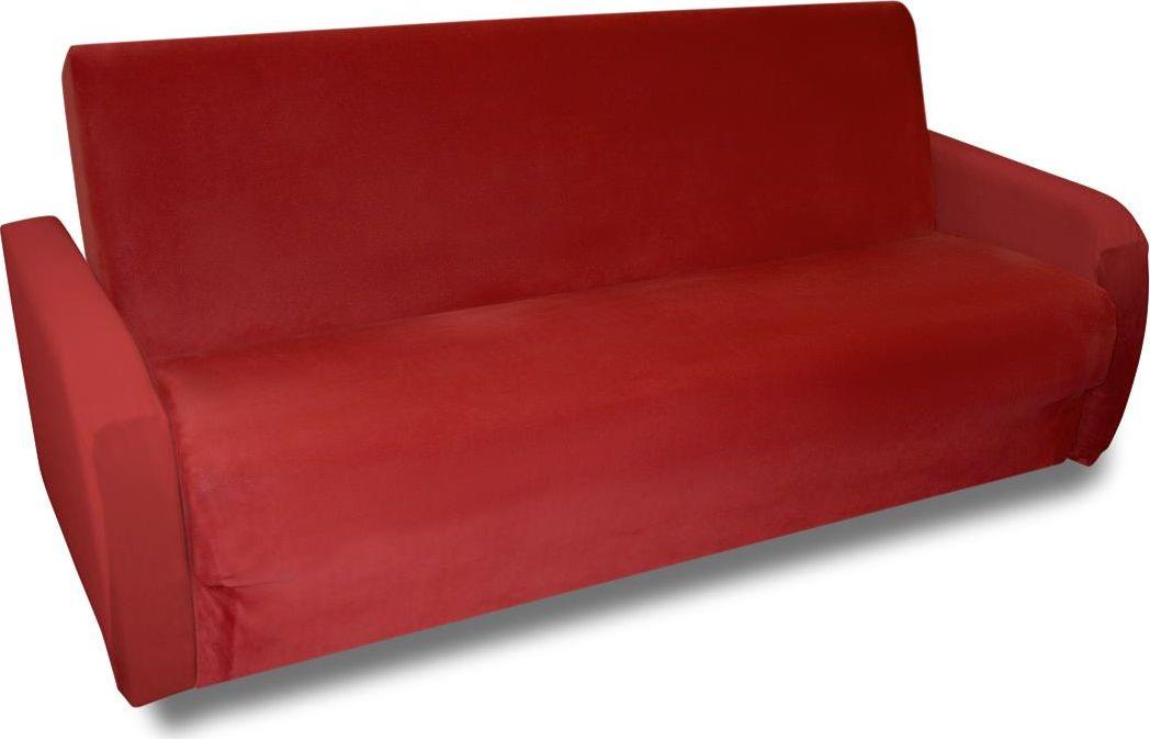 Чехол на трехместный диван-книжку Медежда Бирмингем, цвет: терракотовый1409031109002Модель чехла специально разработана для дивана-книжки. Можно раскладывать диван при этом не снимать чехол.В комплект входят два подлокотника, которые не пришиты к основному чехлу, поэтому возможно использование чехла для дивана без подлокотников.Подходит на диваны со следующими размерами: длина спального места от 170 см до 210 см, ширина спального места от 120 см до 160 см.