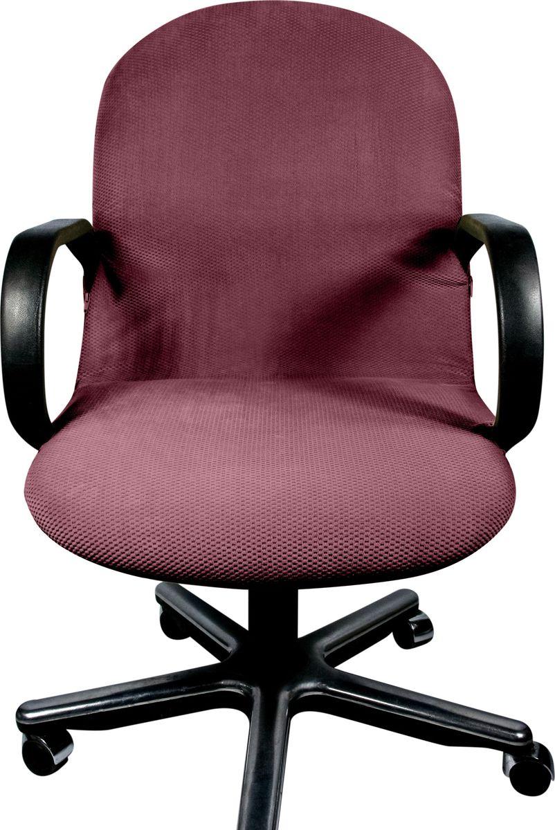 Чехол на компьютерное кресло Медежда Бирмингем, цвет: фиолетовый1410031110002Чехол на компьютерное кресло Медежда Бирмингем изготовлен из 100% полиэстера. Если обивка компьютерного кресла потерлась, испачкалась и нуждается в ремонте, то чехол будет лучшим решением. Он легко и быстро одевается, стирается в стиральной машине. Чехлы на мебель Медежда универсальны и подходят на большинство моделей мебели. Кроме того, изделие украсит вашу гостиную и создаст комфорт и уют в доме.