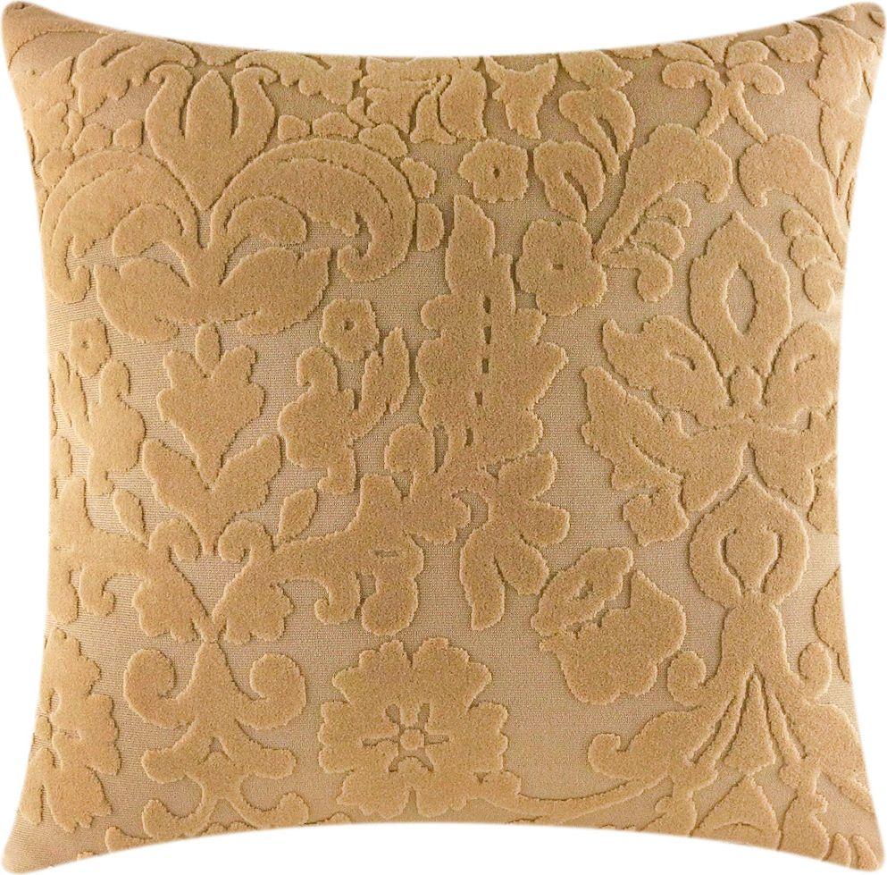 Чехол для подушки Медежда Челтон, цвет: бежевый1415051103000Чехол на подушку изготовлен из стрейчевого жаккарда. Элегантный выпуклый рисунок прекрасно подходит к интерьеру как в классическом, так и в современном стиле. Машинная стирка.