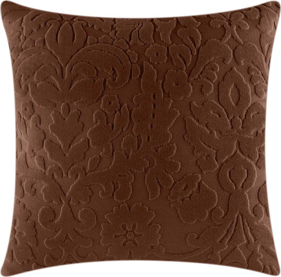 Чехол для подушки Медежда Челтон, цвет: шоколадный1415051111000Чехол на подушку изготовлен из стрейчевого жаккарда. Элегантный выпуклый рисунок прекрасно подходит к интерьеру как в классическом, так и в современном стиле. Машинная стирка.