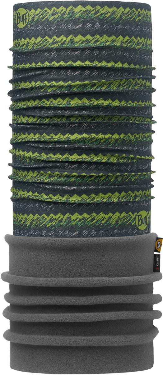 Бандана Buff Polar, цвет: зеленый, серый. 113108.845.10.00. Размер универсальный113108.845.10.00Теплая бандана-шарф Buff Polar - это бандана-труба из серии Original Buff, пришитая к цилиндру из Polartec Classic Fleece 100. В холодную погоду Polar Buff поддерживает нормальную температуру тела и предотвращает потерю тепла, благодаря комбинации микрофибры и Polartec. Благодаря своей универсальности, функциональности и практичности Polar Buff завоевал огромную популярность среди людей, ее можно использовать как шапку, шарф, бандану на лицо и уши, балаклаву, маску. Неотъемлемая часть зимней одежды, подходит для любой активности в холодное время года.