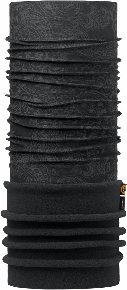 Бандана Buff Polar, цвет: черный. 101080.00. Размер универсальный101080.00Теплая бандана-шарф Buff Polar - это бандана-труба из серии Original Buff, пришитая к цилиндру из Polartec Classic Fleece 100. В холодную погоду Polar Buff поддерживает нормальную температуру тела и предотвращает потерю тепла, благодаря комбинации микрофибры и Polartec. Благодаря своей универсальности, функциональности и практичности Polar Buff завоевал огромную популярность среди людей, ее можно использовать как шапку, шарф, бандану на лицо и уши, балаклаву, маску. Неотъемлемая часть зимней одежды, подходит для любой активности в холодное время года.