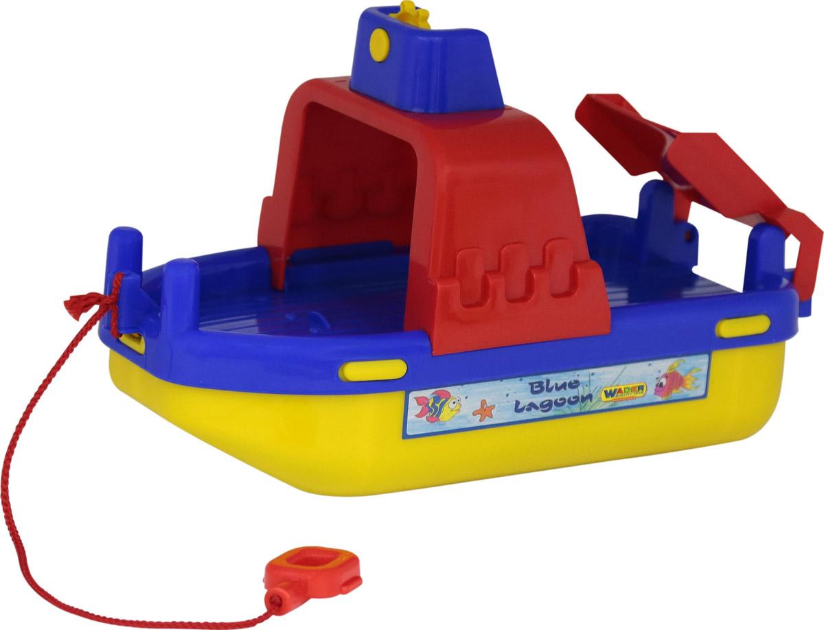 Полесье Паром Лагуна цвет в ассортименте игрушки для ванны полесье паром балтик автомобиль мини 4 шт