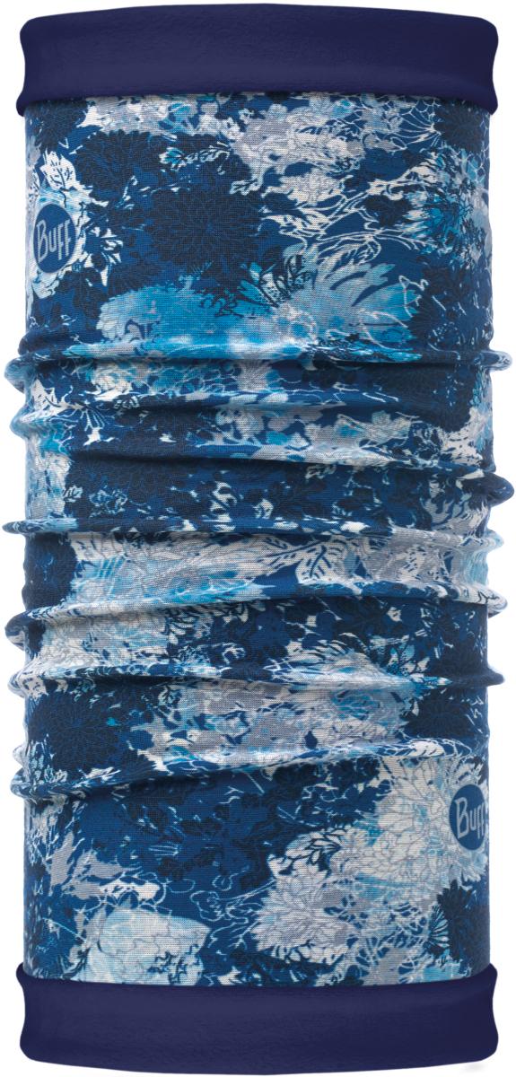 Бандана Buff Reversible Polar, цвет: синий. 115308.707.10.00. Размер универсальный115308.707.10.00Теплая бандана-шарф Reversible Polar из серии Polar Buff - это бандана-труба из серии Original Buff, пришитая к цилиндру из Polartec Classic Fleece 100. В холодную погоду Polar Buff поддерживает нормальную температуру тела и предотвращает потерю тепла, благодаря комбинации микрофибры и Polartec. Благодаря своей универсальности, функциональности и практичности Polar Buff завоевал огромную популярность среди людей, ее можно использовать как шапку, шарф, бандану на лицо и уши, балаклаву, маску. Неотъемлемая часть зимней одежды, подходит для любой активности в холодное время года.