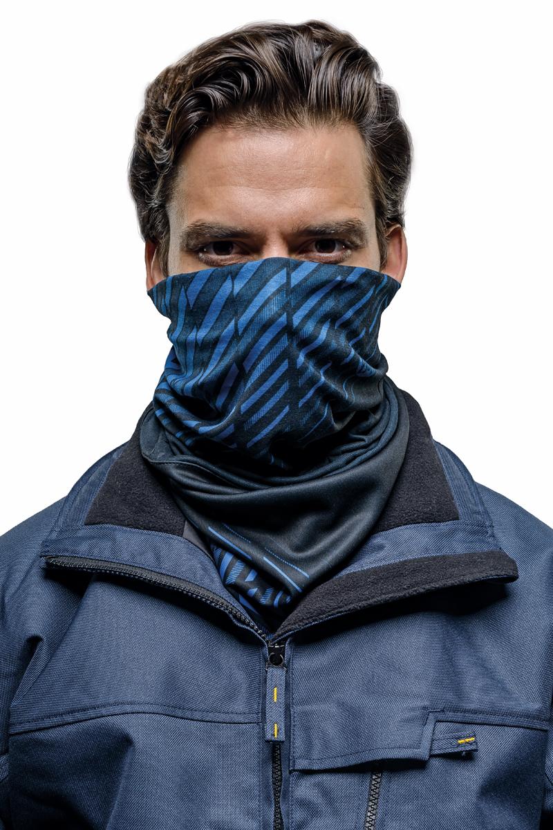 Бандана Buff Windproof, цвет: темно-синий, черный. 115369.707.10.00. Размер универсальный115369.707.10.00Buff - это оригинальные, мультифункциональные, бесшовные головные уборы - удобные и комфортные для любого вида активного отдыха и спорта. Оригинальные, потому что Buff был и является первым в мире брендом мультифункциональных, бесшовных и универсальных головных уборов. Мультифункциональные, потому что их можно носить самыми разными способами: как шарф, как шапку, как балаклаву, косынку, бандану, маску, напульсник и многими другими - решает Ваша фантазия! Универсальный головной убор, который можно носить более чем двенадцатью способами, который можно использовать при занятии любым видом спорта, езде на велосипеде и мотоцикле, катаясь или бегая на лыжах, и даже как аксессуар в городской одежде. Бесшовные, благодаря эластичности, позволяющей использовать эти головные уборы как угодно и не беспокоиться о том, что кожа может быть натерта или раздражена швами.