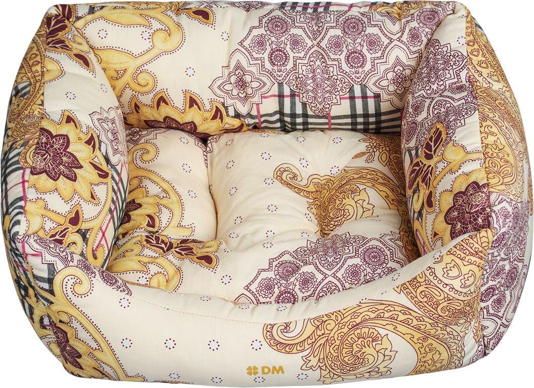 Лежак для животных Dogmoda  Плей , цвет: коричневый. DM-150360