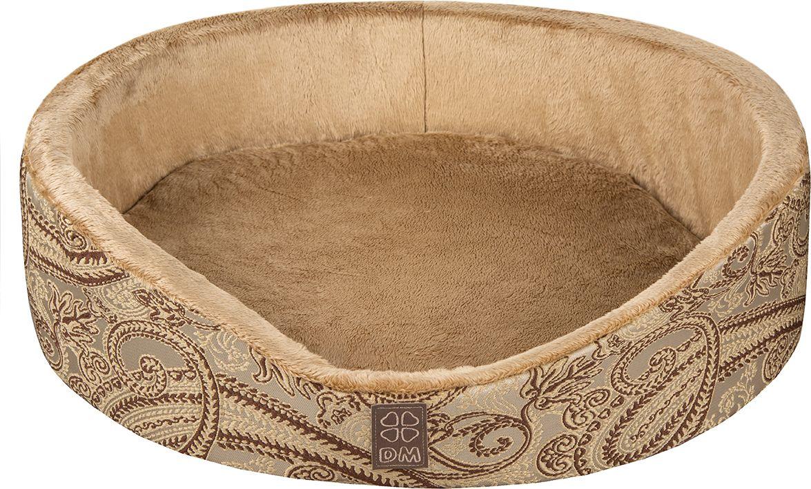 Лежак для животных Dogmoda  Версаль , цвет: золотистый. DM-160346-2