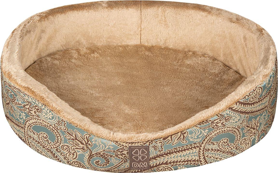 Лежак для животных Dogmoda  Версаль , цвет: бирюзовый. DM-160347-2