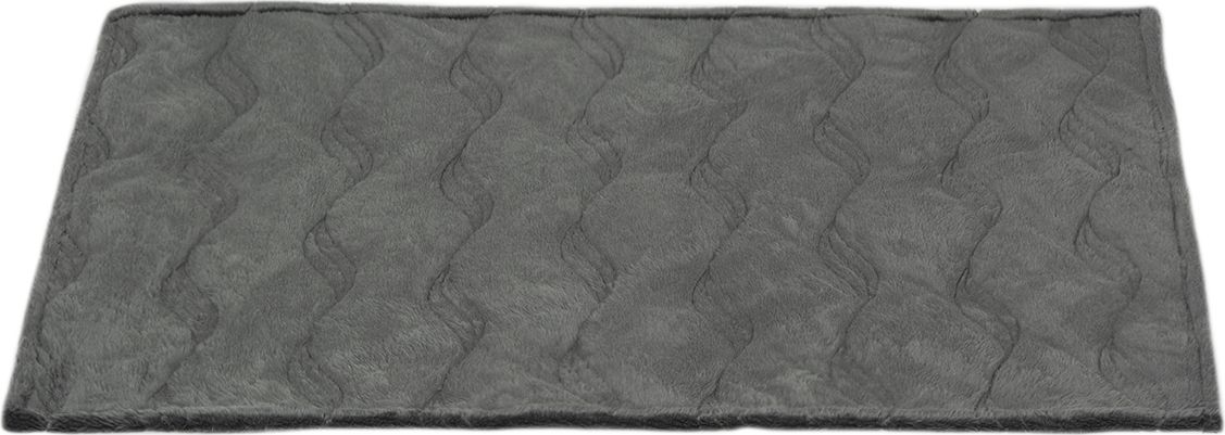 Коврик для собак Dogmoda, цвет: серый, 68 x 45 x 0,7 см. DM-160350DM-160350Практичный стеганый коврик Dogmoda выполнен в прямоугольной форме. С одной стороны изготовлен из водооталкивающего полиэстера, с другой мягкий и приятный для тела вельбоа(искусственный мех). Наполнитель тонкий слой синтепона. Коврик идеально подходит для использования в автомобиле для защиты автомобильных сидений, на природе и дома.Размер коврика: 68 x 45 x 0,7 см.