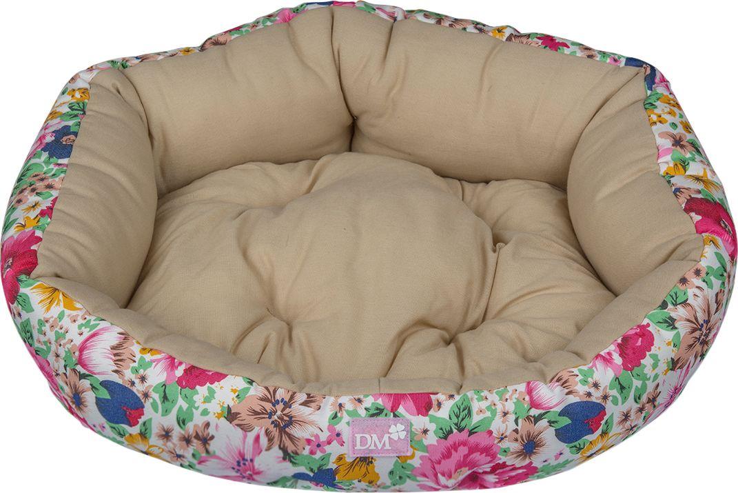 Лежак для животных Dogmoda  Цветы , цвет: светло-зеленый. DM-160114