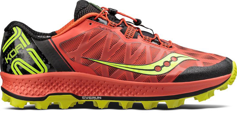 Кроссовки мужские Saucony Koa ST, цвет: красный, желтый. S20391-1. Размер 11 (45)S20391-1Стильные мужские кроссовки Saucony отлично подойдут для активного отдыха и повседневной носки. Верх модели выполнен из текстиля и полиуретана. В модели предусмотрена удобная система быстрой шнуровки. Модель рассчитана на пересеченную местность и подойдет для бегунов с нейтральной пронацией стопы. Амортизирующий материал эффективно гасит ударные нагрузки во время бега. Сетчатый верх гарантирует комфорт и воздухопроницаемость. Подошва с протектором обеспечивает отличное сцепление на любых поверхностях. Форма подошвы гарантирует оптимальную координацию и дополнительную устойчивость при отталкивании. Стелька и внутренняя поверхность из текстиля комфортны при движении. Мягкие и удобные кроссовки превосходно подчеркнут ваш спортивный образ и подарят комфорт.