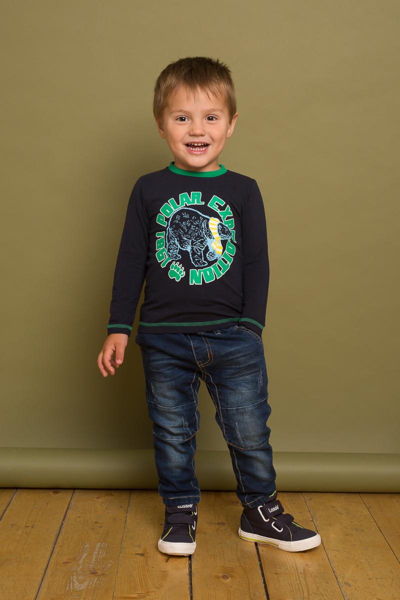 Джинсы для мальчика Sweet Berry Baby, цвет: синий. 731011. Размер 98