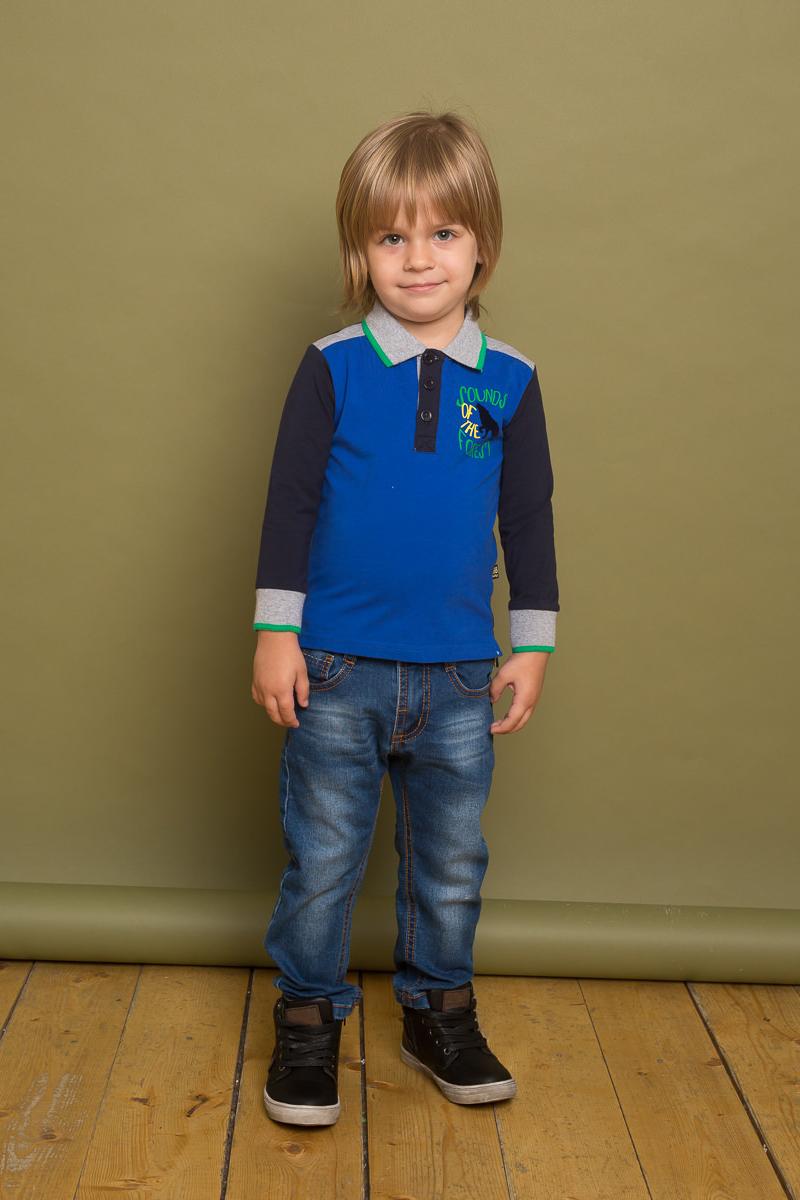 Джинсы для мальчика Sweet Berry Baby, цвет: темно-синий. 731010. Размер 80