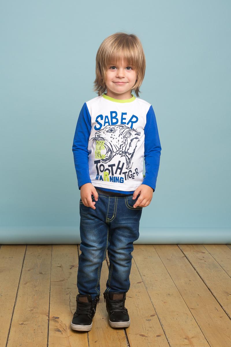 Джинсы для мальчика Sweet Berry Baby, цвет: темно-синий. 731020. Размер 92