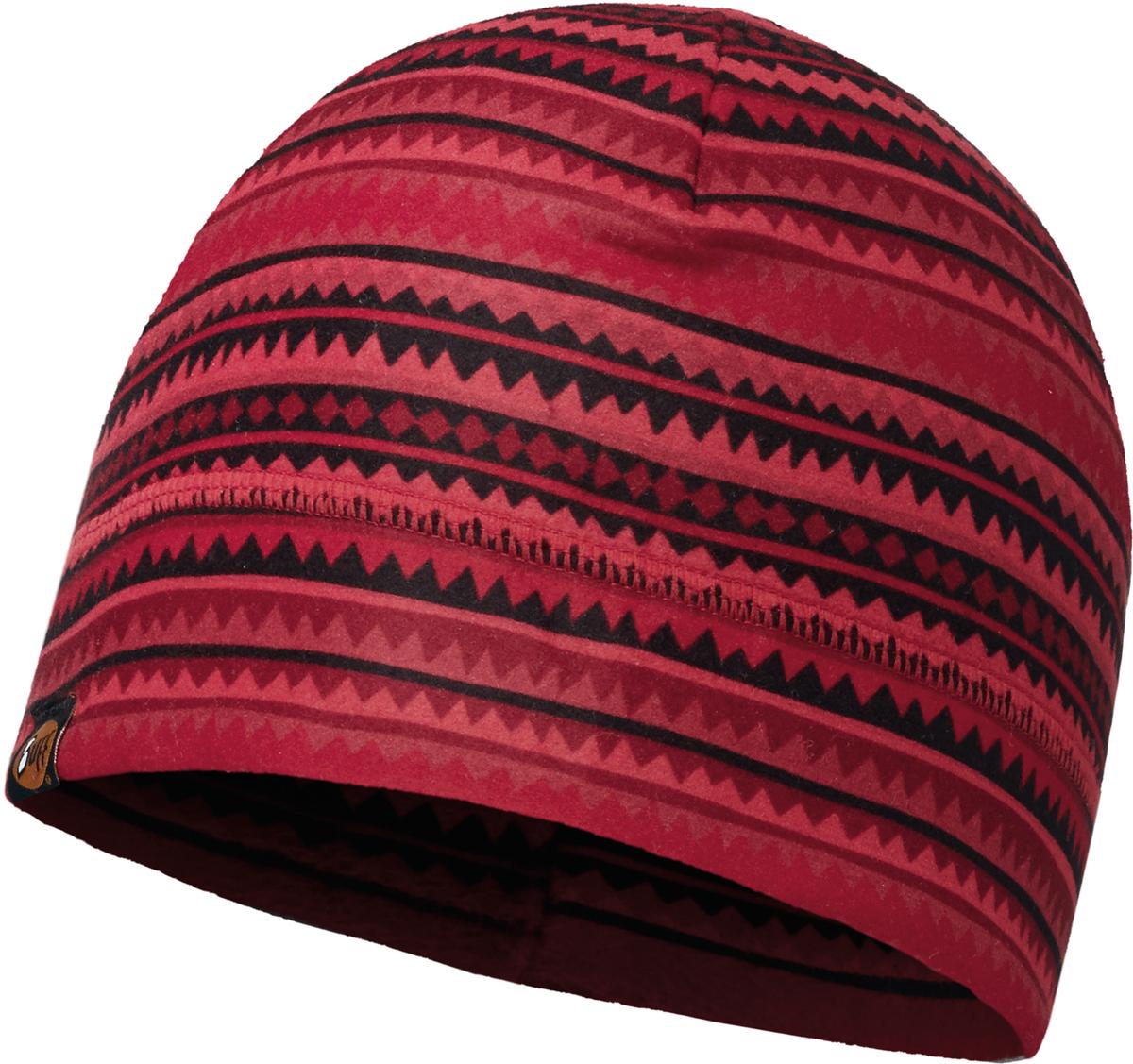 Шапка Buff Polar, цвет: бордовый. 111402.426.10.00. Размер универсальный111402.426.10.00Шапка Buff Polar в холодную погоду поддерживает нормальную температуру тела и предотвращает потерю тепла, благодаря комбинации микрофибры и Polartec. Шапка является неотъемлемой частью зимней одежды.