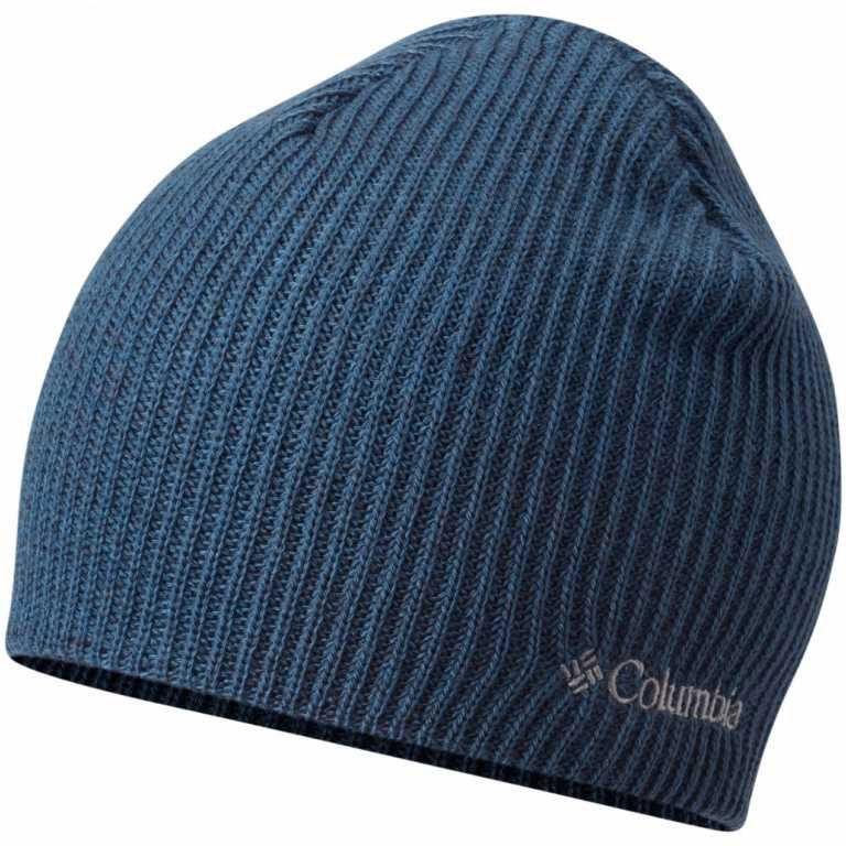 Шапка Columbia Whirlibird Watch Cap Beanie, цвет: синий. 1185181-407. Размер универсальный1185181-407Данная модель шапки прекрасно подойдет для городской жизни и поездок за город. Модель оформлена вышитым логотипом бренда.