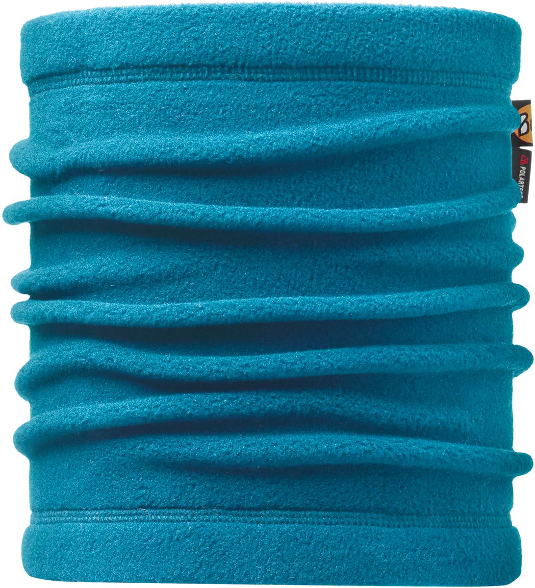Шарф Buff Polar, цвет: бирюзовый. 113125.737.10.00. Размер универсальный113125.737.10.00Теплая бандана-шарф из серии Polar Buff®. Polar Buff® - это бандана-труба из серии Original Buff®, пришитая к цилиндру из Polartec® Classic Fleece 100 ®. В холодную погоду Polar Buff® поддерживает нормальную температуру тела и предотвращает потерю тепла, благодаря комбинации микрофибры и Polartec®. Благодаря своей универсальности, функциональности и практичности Polar Buff завоевал огромную популярность среди людей, ее можно использовать как шапку, шарф, бандану на лицо и уши, балаклаву, маску. Неотъемлемая часть зимней одежды, подходит для любой активности в холодное время года.