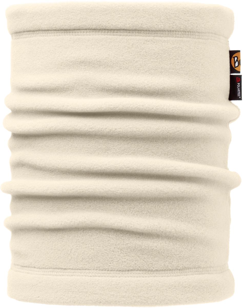Шарф Buff Polar, цвет: кремовый. 107919.00. Размер универсальный107919.00Теплая бандана-шарф из серии Polar Buff®. Polar Buff® - это бандана-труба из серии Original Buff®, пришитая к цилиндру из Polartec® Classic Fleece 100 ®. В холодную погоду Polar Buff® поддерживает нормальную температуру тела и предотвращает потерю тепла, благодаря комбинации микрофибры и Polartec®. Благодаря своей универсальности, функциональности и практичности Polar Buff завоевал огромную популярность среди людей, ее можно использовать как шапку, шарф, бандану на лицо и уши, балаклаву, маску. Неотъемлемая часть зимней одежды, подходит для любой активности в холодное время года.