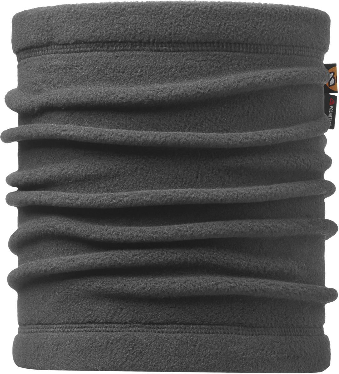 Шарф Buff Polar, цвет: серый. 113125.937.10.00. Размер универсальный113125.937.10.00Теплая бандана-шарф из серии Polar Buff®. Polar Buff® - это бандана-труба из серии Original Buff®, пришитая к цилиндру из Polartec® Classic Fleece 100 ®. В холодную погоду Polar Buff® поддерживает нормальную температуру тела и предотвращает потерю тепла, благодаря комбинации микрофибры и Polartec®. Благодаря своей универсальности, функциональности и практичности Polar Buff завоевал огромную популярность среди людей, ее можно использовать как шапку, шарф, бандану на лицо и уши, балаклаву, маску. Неотъемлемая часть зимней одежды, подходит для любой активности в холодное время года.
