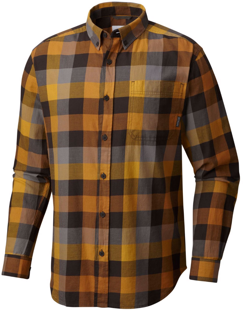 Рубашка мужская Columbia Out And Back Ii, цвет: оранжевый. 1552061-708. Размер XL (52/54)1552061-708Мужская рубашка Out And Back Ii от Columbia с длинным рукавом - отличное дополнение гардероба как для повседневного использования, так и для активного отдыха. Модель прямого кроя, имеется нагрудный накладной карман. Изделие выполнено из хлопкового материала с клетчатым принтом.