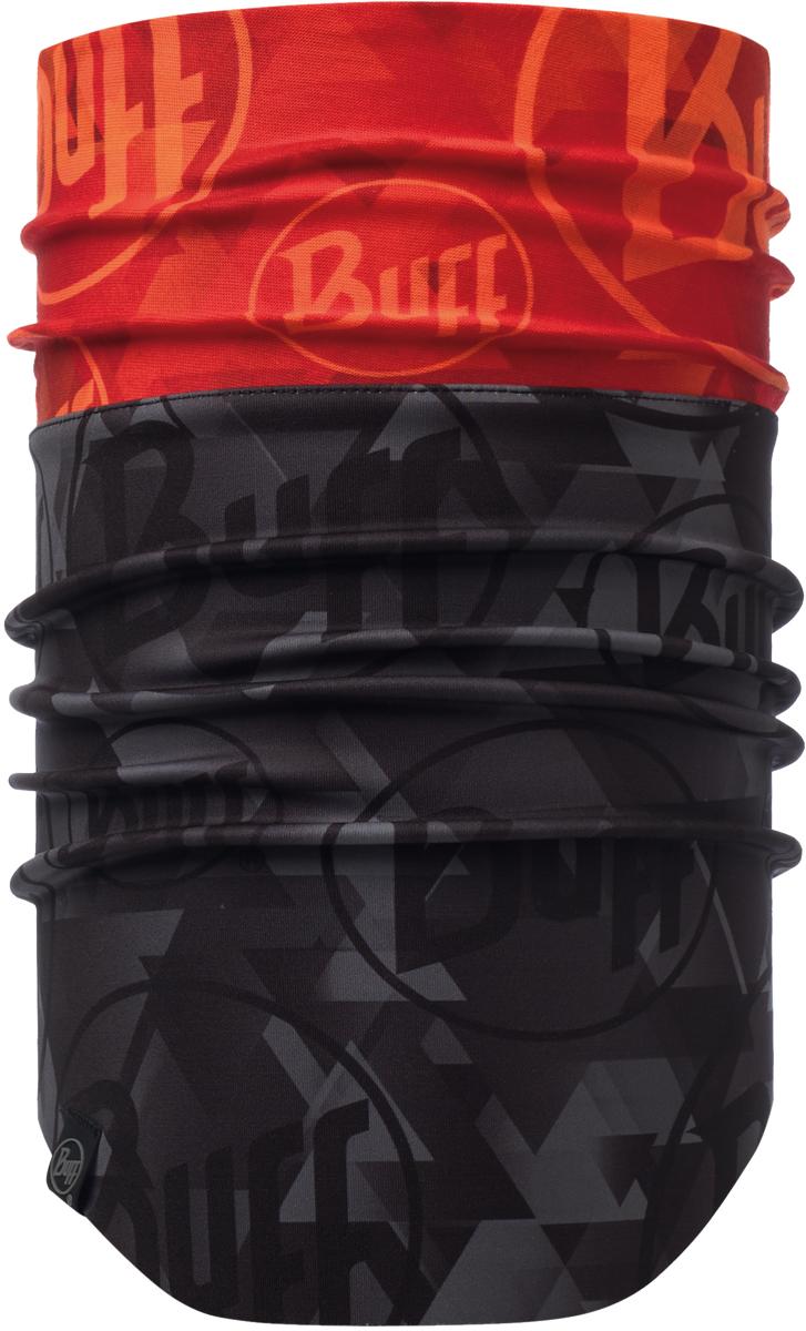 Шарф Buff Windproof, цвет: красный, черный. 115375.211.10.00. Размер универсальный115375.211.10.00Шапка Buff Windproof в холодную погоду поддерживает нормальную температуру тела и предотвращает потерю тепла, благодаря комбинации микрофибры и Polartec. Шапка является неотъемлемой частью зимней одежды.