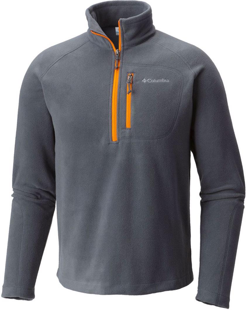 Толстовка муж Columbia Fast Trek Iii Half Zip Fleece, цвет: серый. 1553511-057. Размер S (44/46)1553511-057