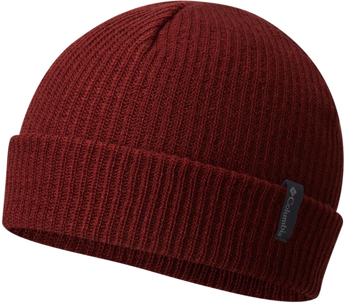 Шапка Columbia Ale Creek Beanie Hat, цвет: бордовый. 1682201-837. Размер универсальный1682201-837Классическая шапка Columbia Ale Creek Beanie из высококачественного акрила. Выполнена модель в лаконичном стиле и дополнена небольшой нашивкой с названием бренда. Прекрасный выбор для повседневной носки и для зимних видов спорта.