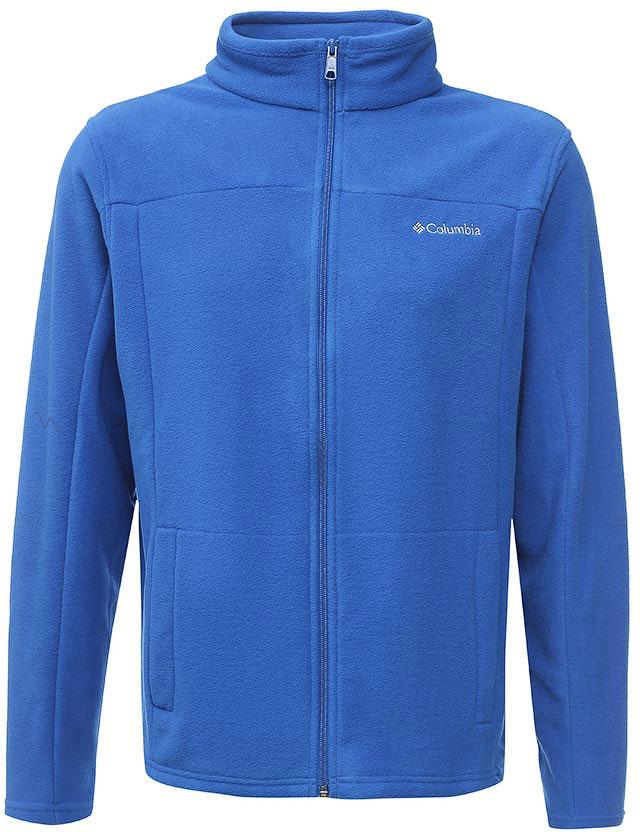 Толстовка мужская Columbia Western Ridge Full Zip M, цвет: синий. 1736711-438. Размер L (48/50)1736711-438Классическая мужская флисовая толстовка от Columbia на молнии для использования в качестве среднего слоя одежды. Флис - это очень удачный материал для одежды, которая направлена на удержание тепла, ведь ткань даже в мокром состоянии сохраняет свои теплоизоляционные свойства. Воротник-стойка защитит шею от продувания ветром. Модель дополнена двумя боковыми карманами и оформлена на груди логотипом с названием бренда.