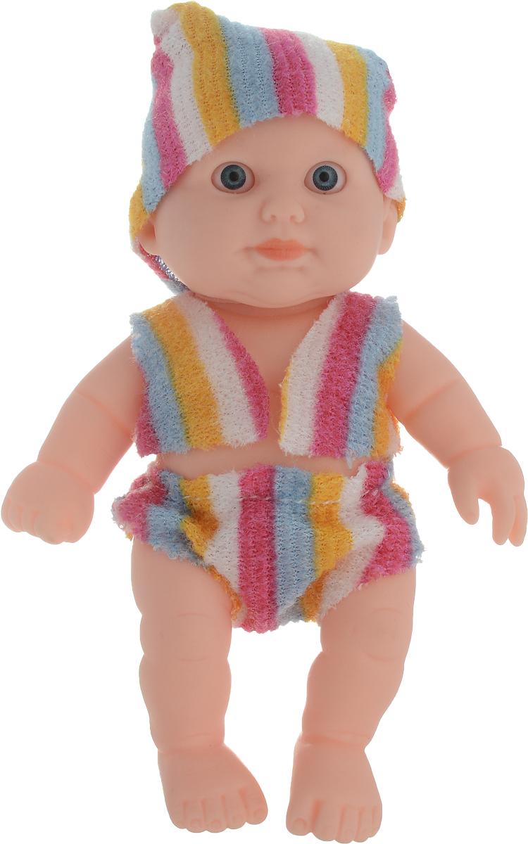 Junfa Toys Пупс в полосатом костюме