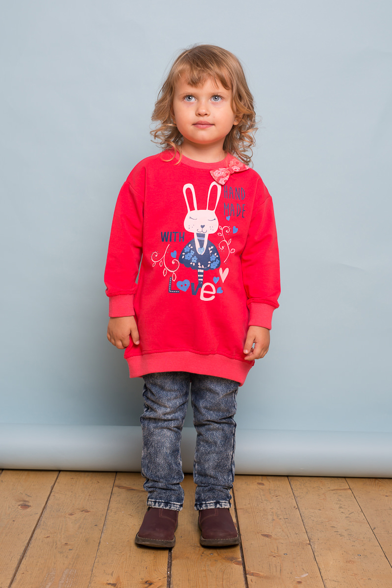 Брюки для девочки Sweet Berry Baby, цвет: синий. 732118. Размер 98732118Модные брюки-джеггенсы Sweet Berry Baby для девочки выполнены из эластичного хлопка. Модель прямого кроя с мягким эластичным поясом стилизована под джинсу.