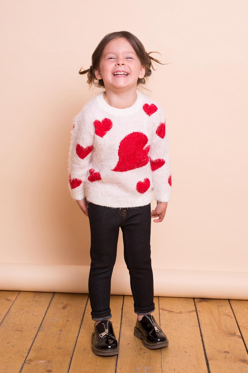 Фото Леггинсы для девочки Sweet Berry Baby, цвет: черный. 732056. Размер 86