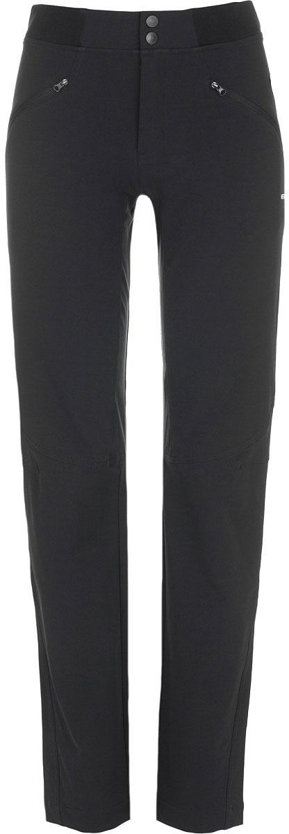 Брюки женские Merrell Osca, цвет: черный. A18AMRPAW02-99. Размер 46A18AMRPAW02-99Удобные женские брюки Merrell Osca отлично подойдут для походов и активного отдыха. Модель зауженного кроя изготовлена из высококачественного материала по технологии M Select SHIELD, которая защитит изделие от влаги и грязи. Брюки застегиваются на молнию с двумя кнопками и дополнены двумя прорезными карманами на молниях. Артикулируемые колени обеспечивают свободу движения, а эластичные вставки на поясе и завышенная линия талии по спинке гарантируют комфортную посадку. Светоотражающие элементы позволят быть заметнее в темное время суток.