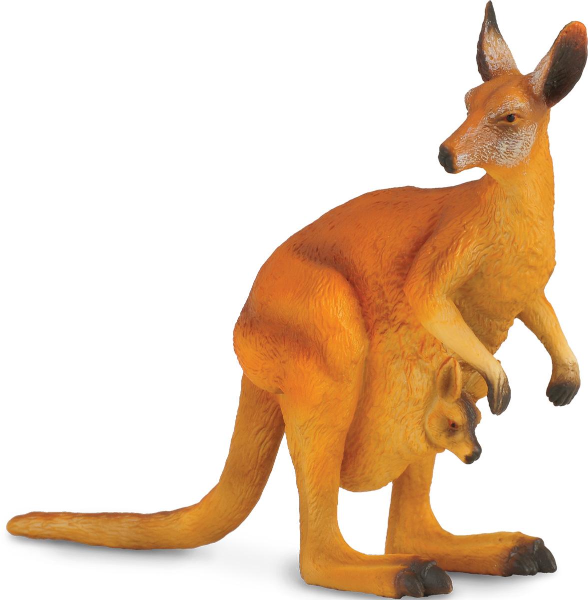 Collecta Фигурка Красный кенгуру игровые фигурки gulliver collecta двугорбый верблюд l