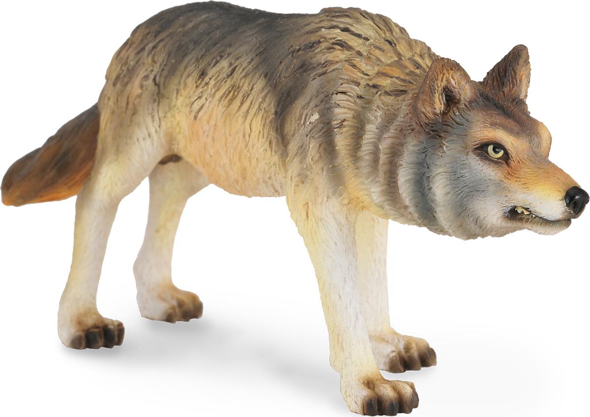 Collecta Фигурка Волк охотящийся фигурка collecta овца суффолк
