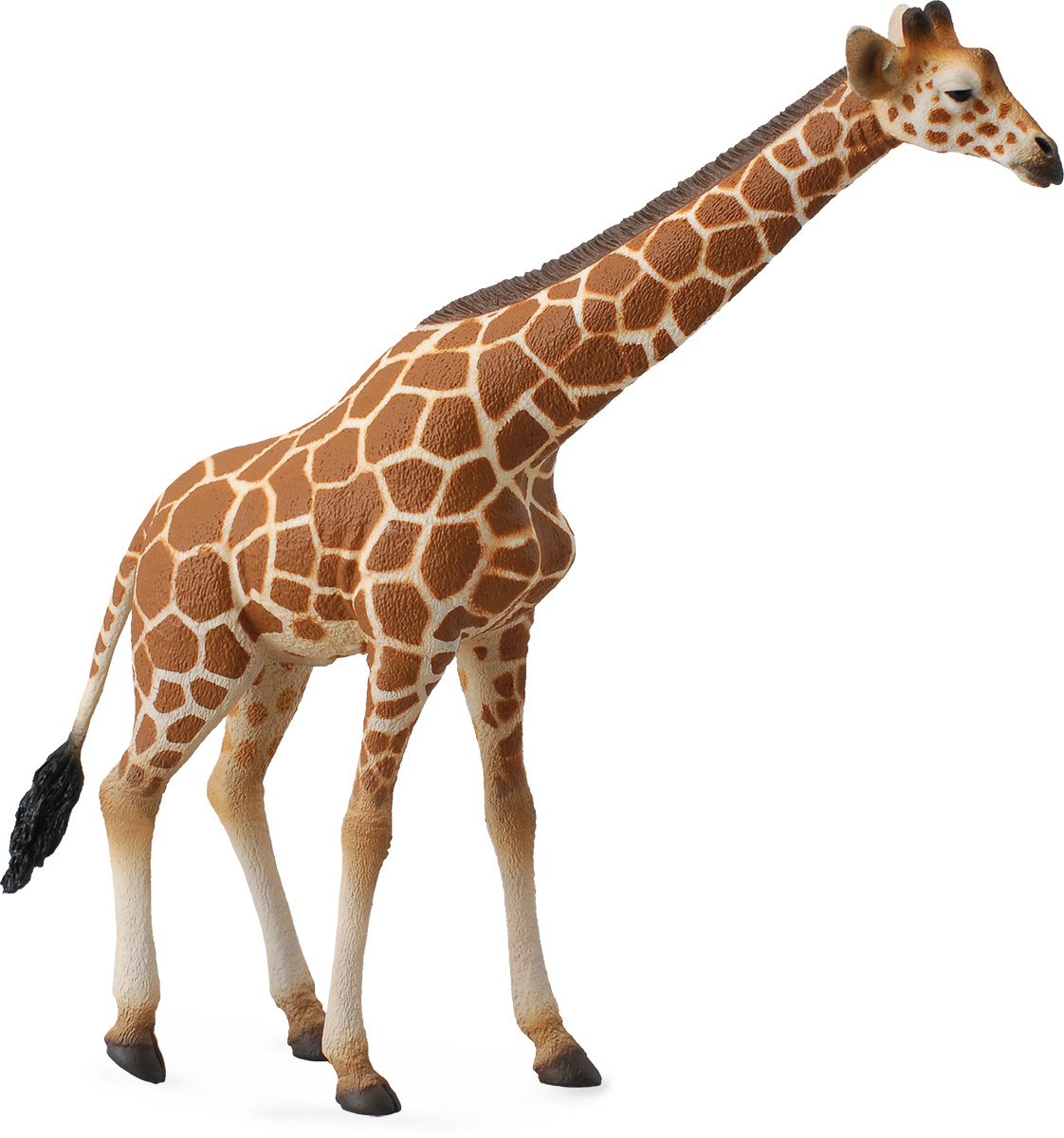 Collecta Фигурка Сетчатый жираф акула большая белая xl collecta