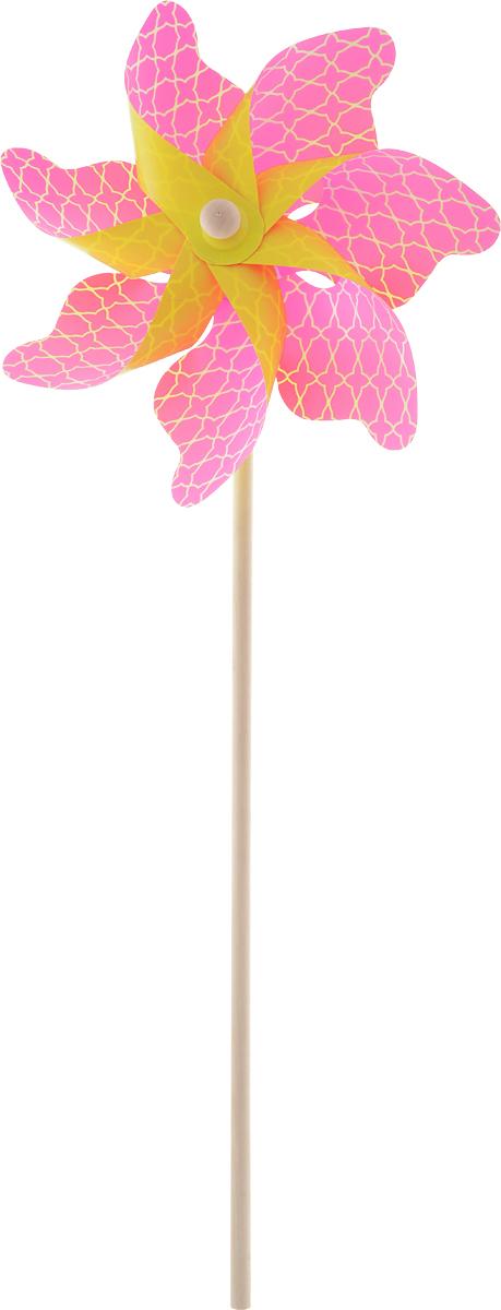 Fresh Trend Вертушка Ветрячок Звездочки цвет розовый 55 см