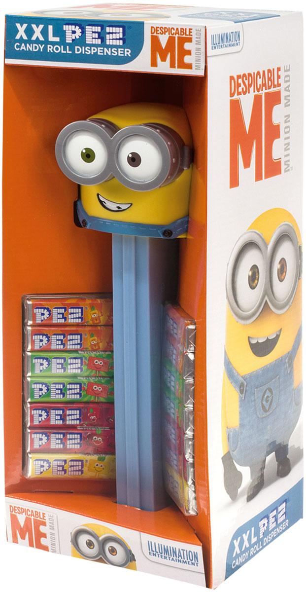 PEZ Игрушки с конфетами XXL миньоны, 119 г pez fizzy конфеты фруктовые 30 г