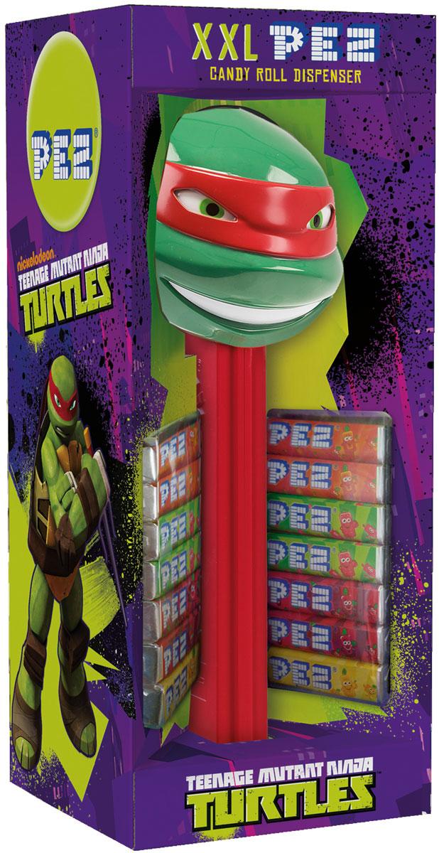 PEZ Игрушки с конфетами XXL черепашки ниндзя, 119 г pez fizzy конфеты фруктовые 30 г